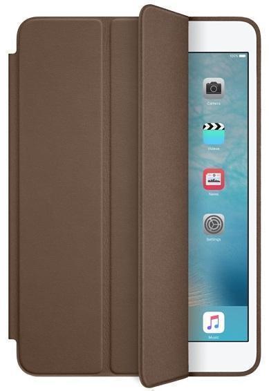 Чехол-книжка Smart Case для Apple iPad mini 4 (искусственная кожа с подставкой) темно-коричневыйдля Apple iPad mini 4<br>Чехол-книжка Smart Case для Apple iPad mini 4 (искусственная кожа с подставкой) темно-коричневый<br>