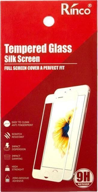 Защитное стекло Rinco (Full) Screen для Xiaomi Mi6 цветное (черная рамка) фото