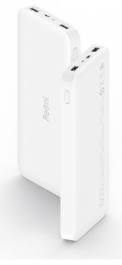 Купить Универсальный внешний аккумулятор Xiaomi Redmi Power Bank 10000mAh (PB100LZM) белый