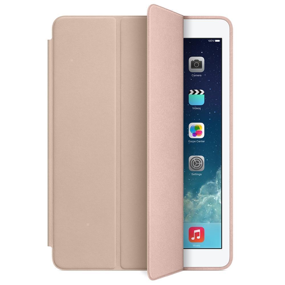 Чехол-книжка Smart Case для Apple iPad (2017) (искусственная кожа с подставкой) золотойдля Apple iPad (2017)<br>Чехол-книжка Smart Case для Apple iPad (2017) (искусственная кожа с подставкой) золотой<br>