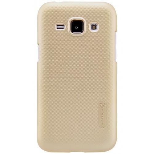 Чехол-накладка Nillkin Frosted Shield для Samsung Galaxy J1 Mini (2016) J105 пластиковый золотойдля Samsung<br>Чехол-накладка Nillkin Frosted Shield для Samsung Galaxy J1 Mini (2016) J105 пластиковый золотой<br>
