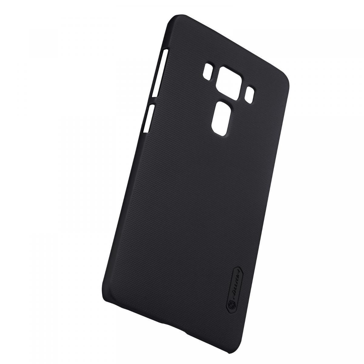 Чехол-накладка Nillkin Frosted Shield для Asus Zenfone 3 Deluxe ZS570KL пластиковый (черный) фото
