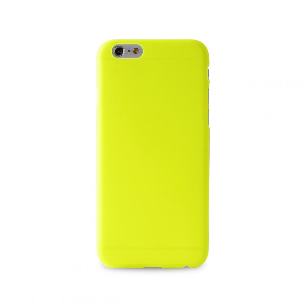 Купить Чехол-накладка PURO 0.3 mm для Apple iPhone 6 Plus/6S Plus силиконовый желтый