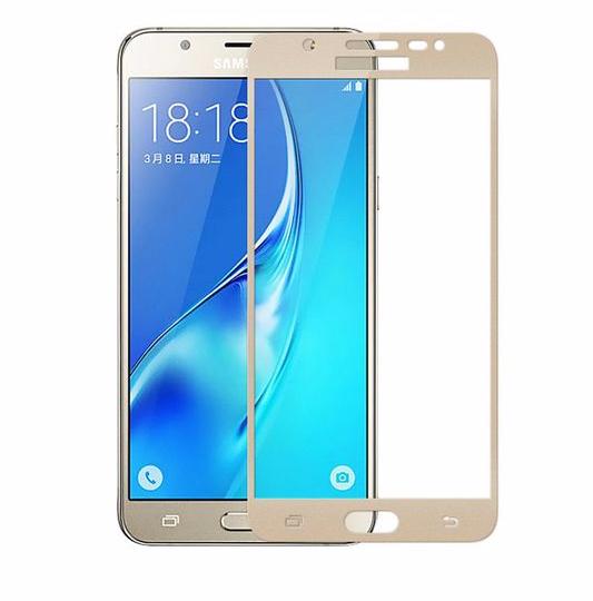 Защитное стекло Glass PRO (Full) Screen для Samsung Galaxy J7 Prime G610 цветное золотая рамкадля Samsung<br>Защитное стекло Glass PRO (Full) Screen для Samsung Galaxy J7 Prime G610 цветное золотая рамка<br>