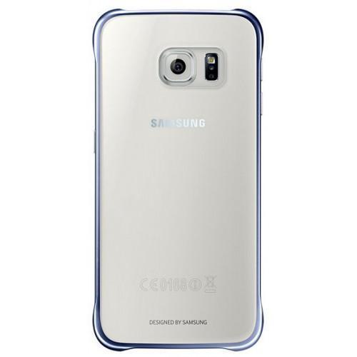 Чехол-накладка Samsung Clear Cover для Galaxy S6 пластик прозрачный-черный EF-QG920BBEGRUдля Samsung<br>Чехол-накладка Samsung Clear Cover для Galaxy S6 пластик прозрачный-черный EF-QG920BBEGRU<br>
