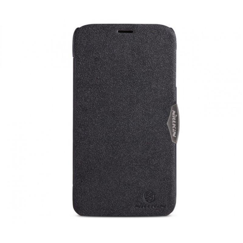 Чехол-книжка Nillkin Fresh leather case для Lenovo A850 искусственная кожа (Black) фото