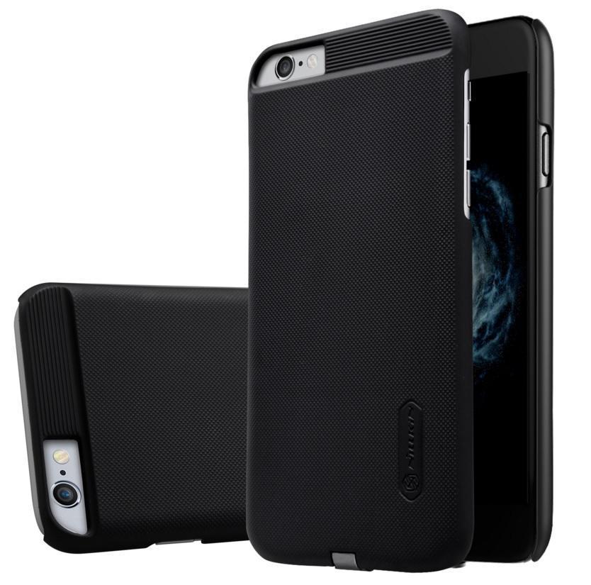 Чехол-накладка Nillkin Magic Case QI для Apple iPhone 6 Plus/6S Plus с беспроводной зарядкой черныйдля iPhone 6 Plus/6S Plus<br>Чехол-накладка Nillkin Magic Case QI для Apple iPhone 6 Plus/6S Plus с беспроводной зарядкой пластик черный<br>