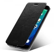 Чехол-книжка MOFI Rui Leather Case для Meizu MX4 Pro полиуретан силикон (черный)