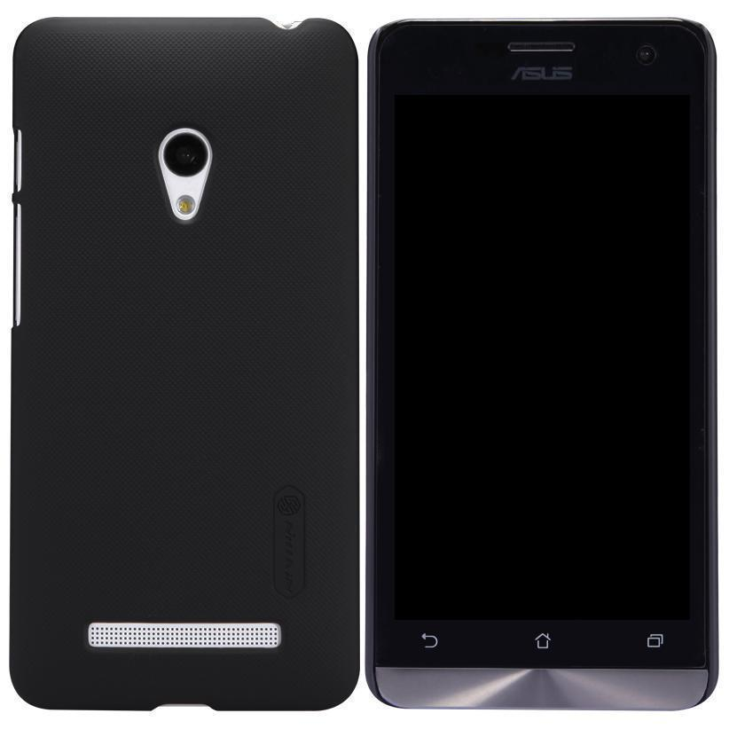 Чехол-накладка Nillkin Frosted Shield для Asus Zenfone 5 (A500KL /A501CG) пластиковый Black