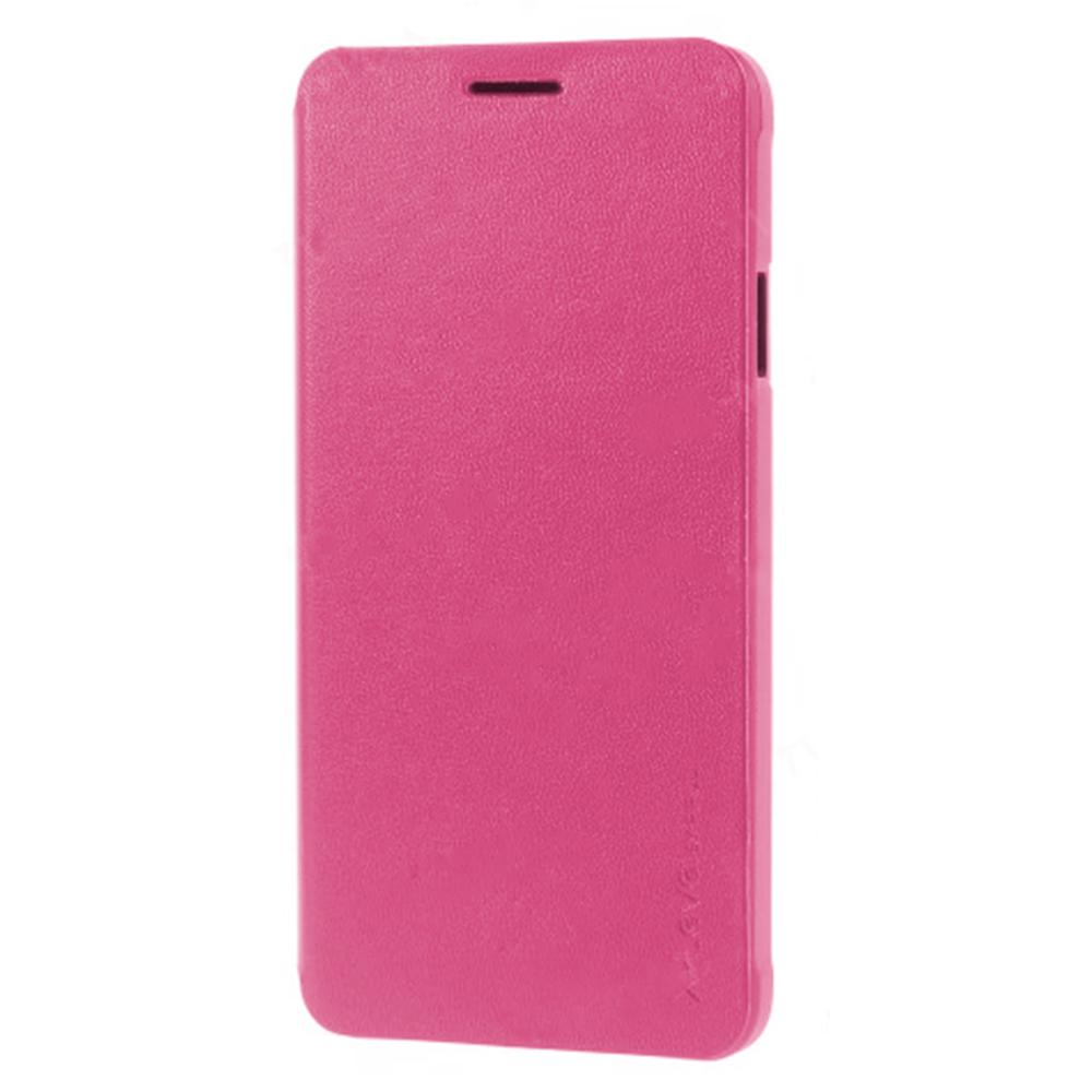 Чехол-книжка Pipilu X-Level для Samsung Galaxy A5 SM-A500 натуральная кожа розовый