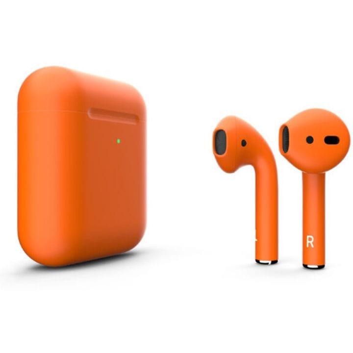 Беспроводная гарнитура Apple AirPods 2 (Matte Orange)