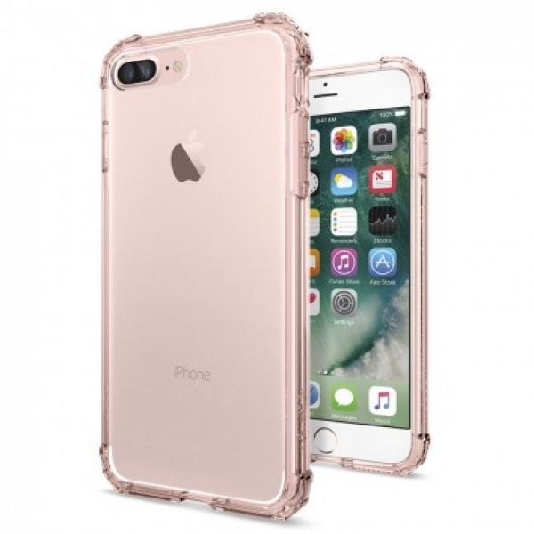 Чехол-накладка Spigen Crystal Shell для Apple iPhone 7 Plus/8 Plus Rose Crystal (SGP 043CS20501)для iPhone 7 Plus/8 Plus<br>Чехол-накладка Spigen Crystal Shell для Apple iPhone 7 Plus/8 Plus Rose Crystal (SGP 043CS20501)<br>
