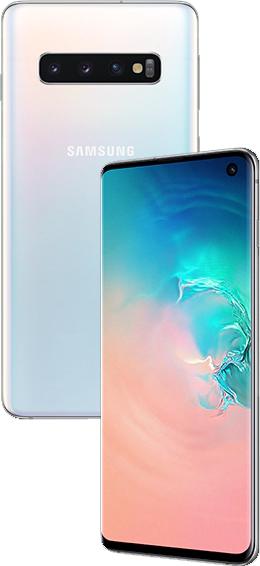 Samsung Galaxy S10 8/128Gb (SM-G9730DS) Prism White
