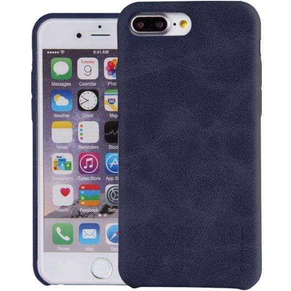 Чехол-накладка Uniq Outfitter Vintage для Apple iPhone 7 Plus/8 Plus (натуральная кожа) Blueдля iPhone 7 Plus/8 Plus<br>Чехол-накладка Uniq Outfitter Vintage для Apple iPhone 7 Plus/8 Plus (натуральная кожа) Blue<br>