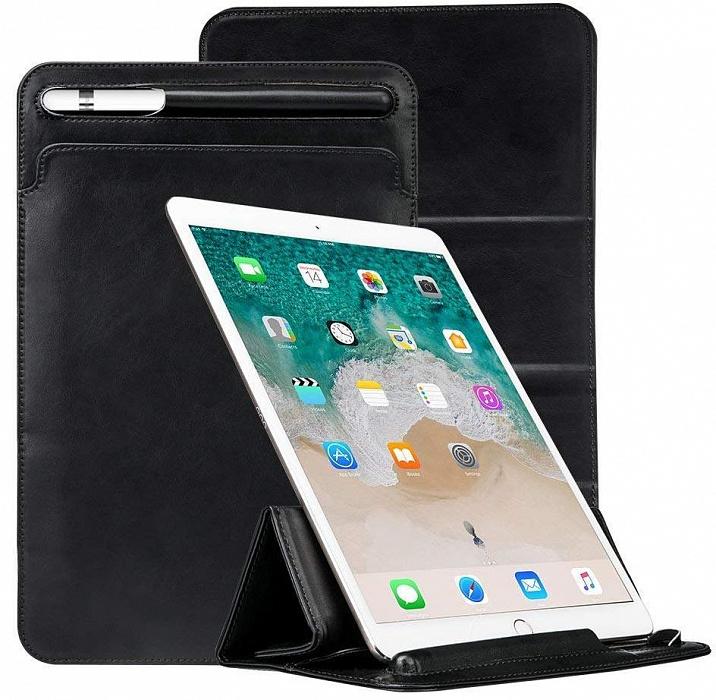 Купить Чехол-книжка Jisoncase PU Leather (JS-PRO-23M10) для Apple iPad Pro 10.5 (искусственная кожа/держатель для Apple Pencil) Black