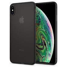 Купить Чехол-накладка Spigen Air Skin для iPhone Xs Max (Черный) SGP 065CS24830