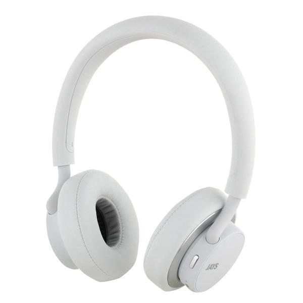 Купить Беспроводные Bluetooth cтерео-наушники Jays U-Jays Wireless (White)