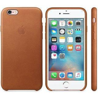 Чехол-накладка Apple Leather Case для iPhone 6/6S натуральная кожа Brown (MKXT2ZM/A)для iPhone 6/6S<br>Чехол-накладка Apple Leather Case для iPhone 6/6S натуральная кожа Brown (MKXT2ZM/A)<br>