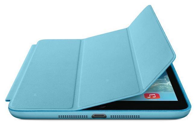 Чехол-книжка Smart Case для Apple iPad mini 1/2/3 (искусственная кожа с подставкой) голубойдля Apple iPad mini 1/2/3<br>Чехол-книжка Smart Case для Apple iPad mini 1/2/3 (искусственная кожа с подставкой) голубой<br>