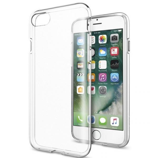 Чехол-накладка для Apple iPhone 7/8 силиконовый прозрачныйдля iPhone 7/8<br>Чехол-накладка для Apple iPhone 7/8 силиконовый прозрачный<br>