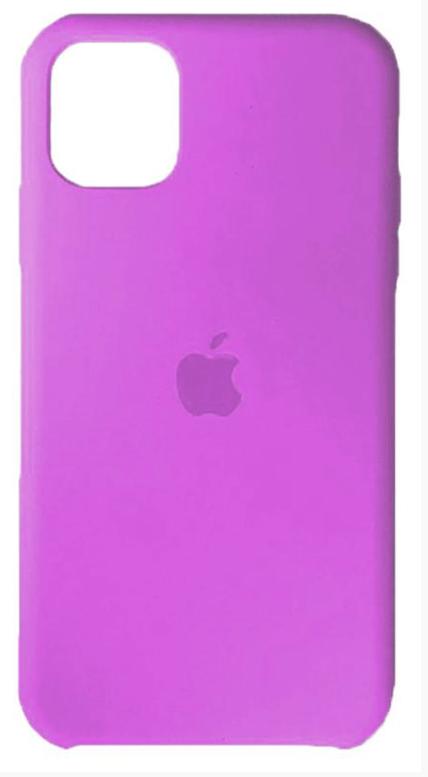 Чехол-накладка Silicone Case Series для Apple iPhone 11 Pro (лиловый) фото