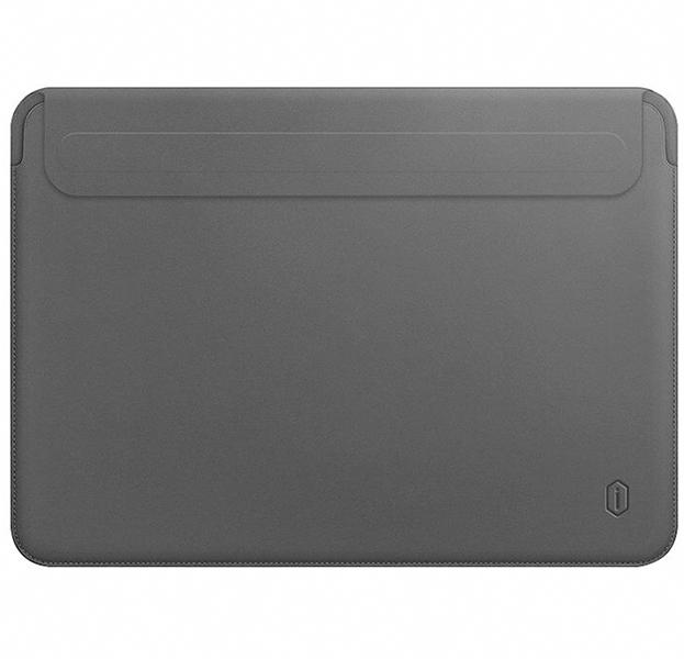 Чехол для ноутбука WIWU Skin Pro II PU Leather Sleeve для Apple MacBook Air 13 (2018) (серый)