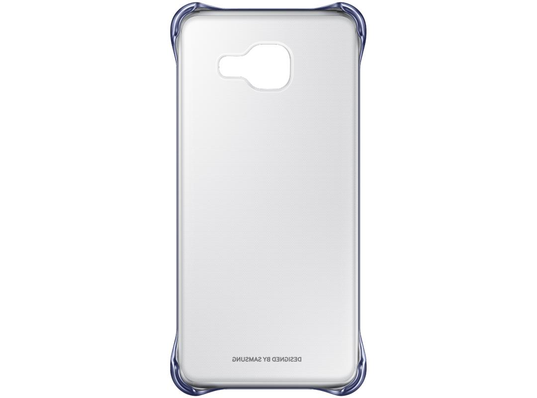 Чехол-накладка Samsung Clear Cover для Galaxy A7 (2016) пластик прозрачный-черный EF-QA710CBEGRUдля Samsung<br>Чехол-накладка Samsung Clear Cover для Galaxy A7 (2016) пластик прозрачный-черный EF-QA710CBEGRU<br>