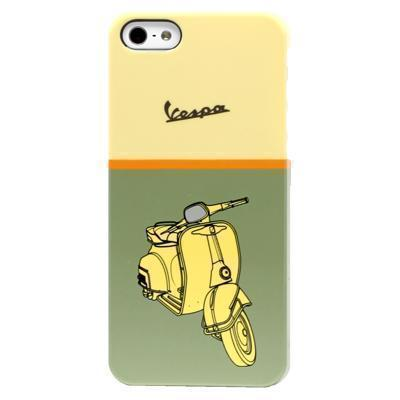 Чехол-накладка Vespa Hard Metallic для Apple iPhone SE/5S/5 пластиковый (VEHCP5MG)для iPhone 5/5S/SE<br>Чехол-накладка Vespa Hard Metallic для Apple iPhone SE/5S/5 пластиковый (VEHCP5MG)<br>