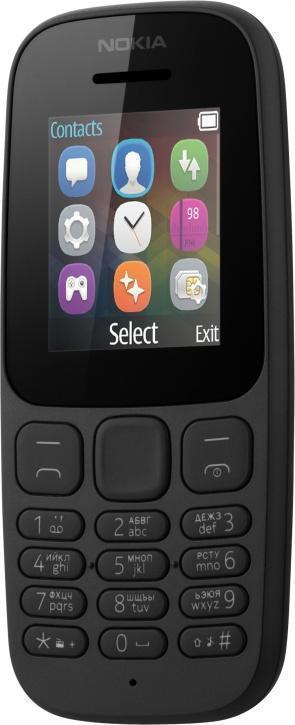 Nokia 105 (2017) Black (A00028356)