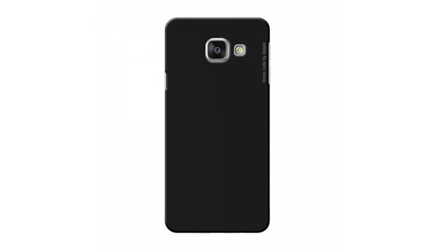 Купить Чехол-накладка Deppa Air Case для Samsung Galaxy A3 (2016) SM-A310 пластик (черный)