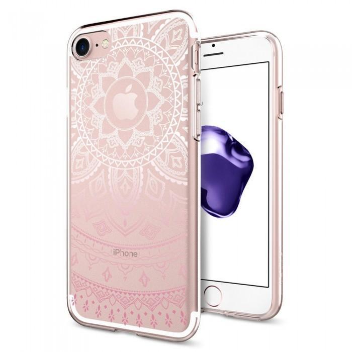 Чехол-накладка Spigen Liquid Crystal для Apple iPhone 7/8 силикон Shine Pink (SGP 042CS20958)для iPhone 7/8<br>Чехол-накладка Spigen Liquid Crystal для Apple iPhone 7/8 силикон Shine Pink (SGP 042CS20958)<br>