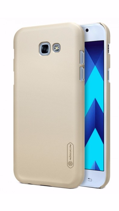 Чехол-накладка Nillkin Frosted Shield для Samsung Galaxy A7 (2017) SM-A720 пластиковый золотойдля Samsung<br>Чехол-накладка Nillkin Frosted Shield для Samsung Galaxy A7 (2017) SM-A720 пластиковый золотой<br>