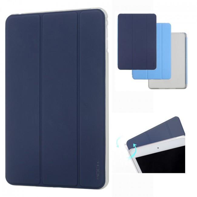 Чехол-книжка Rock Phantom Series для Apple iPad Pro 9.7 (силикон полиуретан с подставкой) Blue