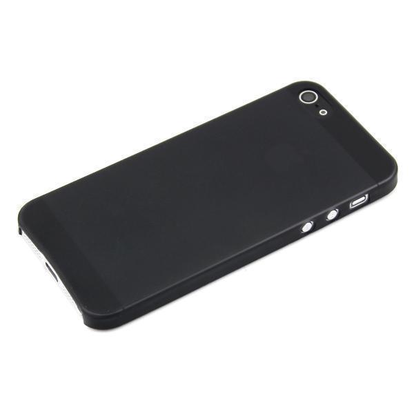 Чехол-накладка Deppa Sky Case 0.3mm для Apple iPhone SE/5S/5 пластиковый матовый черныйдля iPhone 5/5S/SE<br>Чехол-накладка Deppa Sky Case 0.3mm для Apple iPhone SE/5S/5 пластиковый матовый черный<br>
