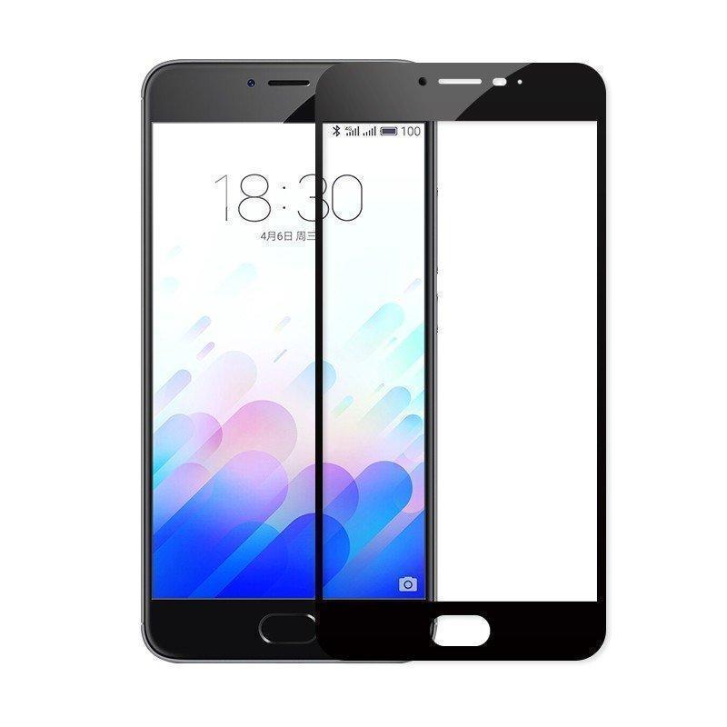 Защитное стекло Glass PRO (Full) Screen для Meizu U10 цветное черная рамкадля Meizu<br>Защитное стекло Glass PRO (Full) Screen для Meizu U10 прозрачное антибликовое черная рамка<br>