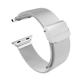 Ремешок нержавеющая сталь iBacks Stainless Steel ip60208 для Apple Watch Series 1/2 38mm SilverРемешки и браслеты для умных часов Apple<br>Ремешок нержавеющая сталь iBacks Stainless Steel ip60208 для Apple Watch Series 1/2 38mm Silver<br>