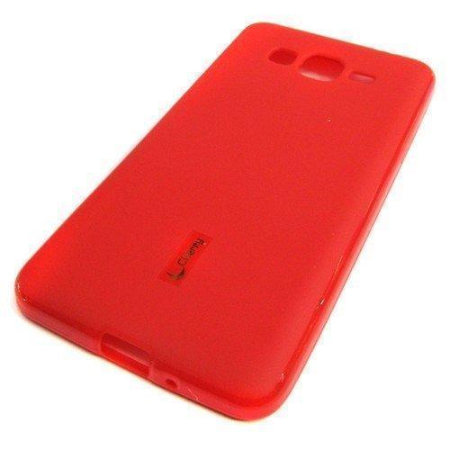 Купить Чехол-накладка Cherry для Samsung Galaxy S6 (G920F) силиконовый матовый (красный)