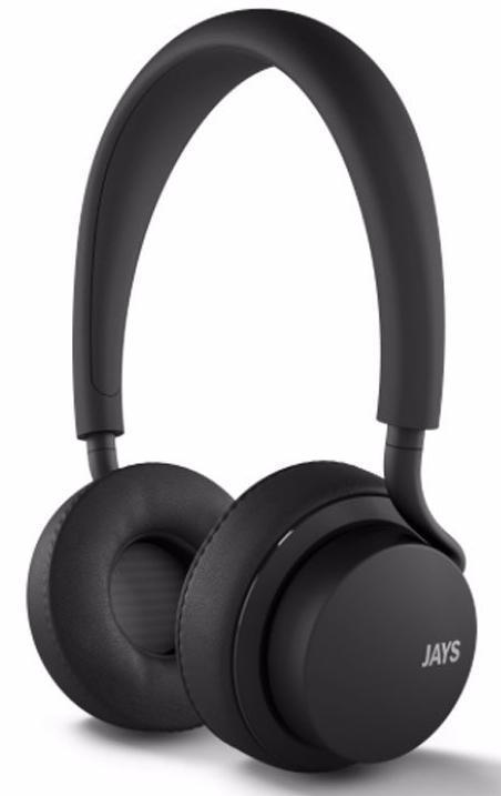 Купить Беспроводные Bluetooth cтерео-наушники Jays U-Jays Wireless (Black)