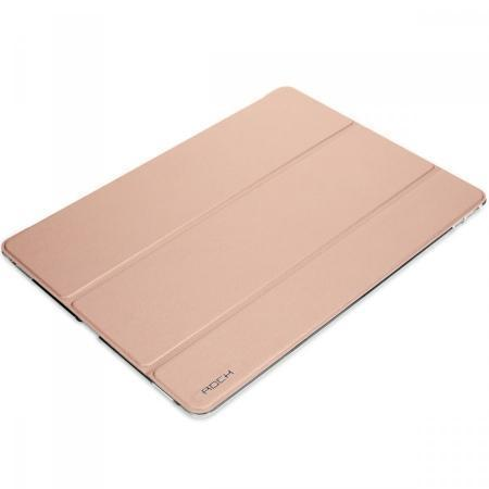Чехол-книжка Rock Phantom Series для Apple iPad Pro 9.7 (силикон полиуретан с подставкой) rose gold
