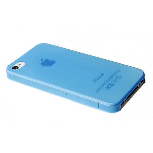 Чехол-накладка Hoco Ultra Thin Case для Apple iPhone 4/4S пластик голубаядля iPhone 4/4S<br>Чехол-накладка Hoco Ultra Thin Case для Apple iPhone 4/4S пластик голубая<br>