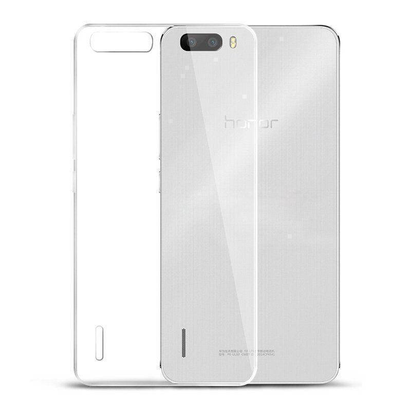 Чехол-накладка для Huawei 6 Plus силиконовый прозрачныйдля Huawei<br>Чехол-накладка для Huawei 6 Plus силиконовый прозрачный<br>