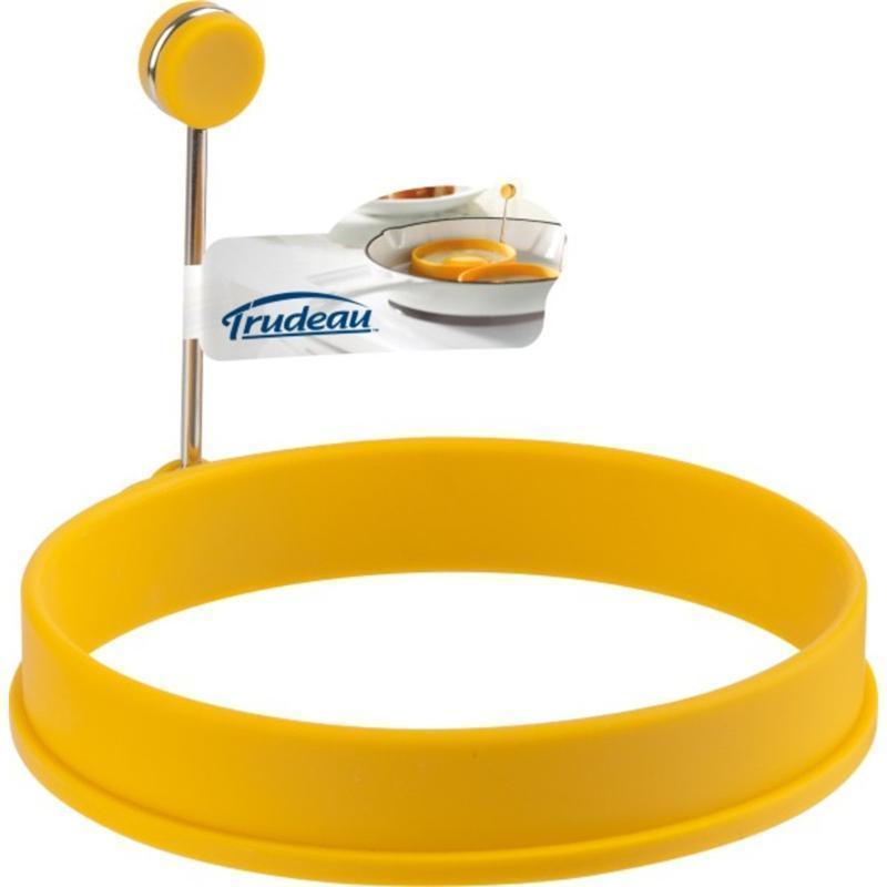 Trudeau Форма для яичницы «Солнечный круг» силикон желтый фото