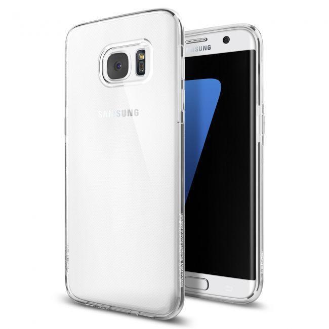 Чехол-накладка Spigen Liquid Crystal для Samsung Galaxy S7 Edge Crystal Clear (SGP 556CS20032)для Samsung<br>Чехол-накладка Spigen Liquid Crystal для Samsung Galaxy S7 Edge Crystal Clear (SGP 556CS20032)<br>