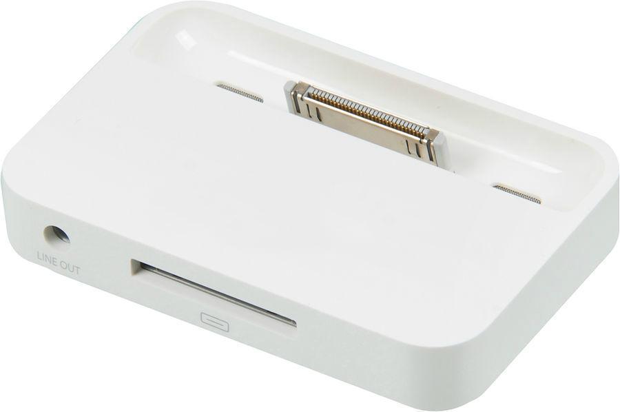 Док-станция Apple 30-pin для iPhone 4/4S белый MC596ZM/BДок-станции<br>Док-станция Apple 30-pin для iPhone 4/4S белый MC596ZM/B<br>