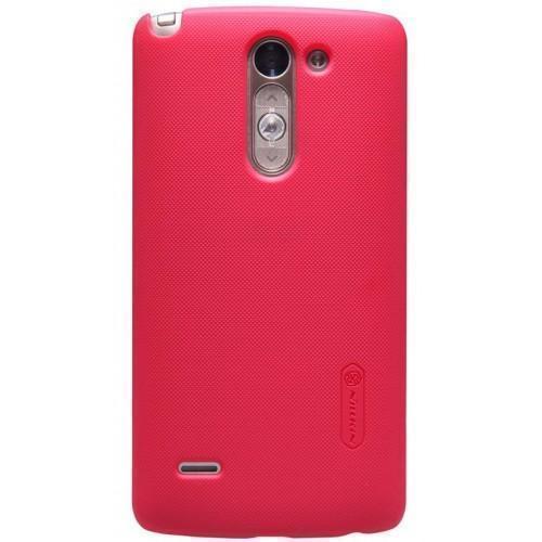 Чехол-накладка Nillkin Frosted Shield для LG G3s / D724 / D722 (пластиковый) Redдля LG<br>Чехол-накладка Nillkin Frosted Shield для LG G3s / D724 / D722 (пластиковый) Red<br>