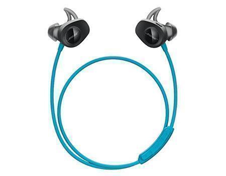 Купить Беспроводные Bluetooth cтерео-наушники Bose SoundSport Wireless Headphones (blue)