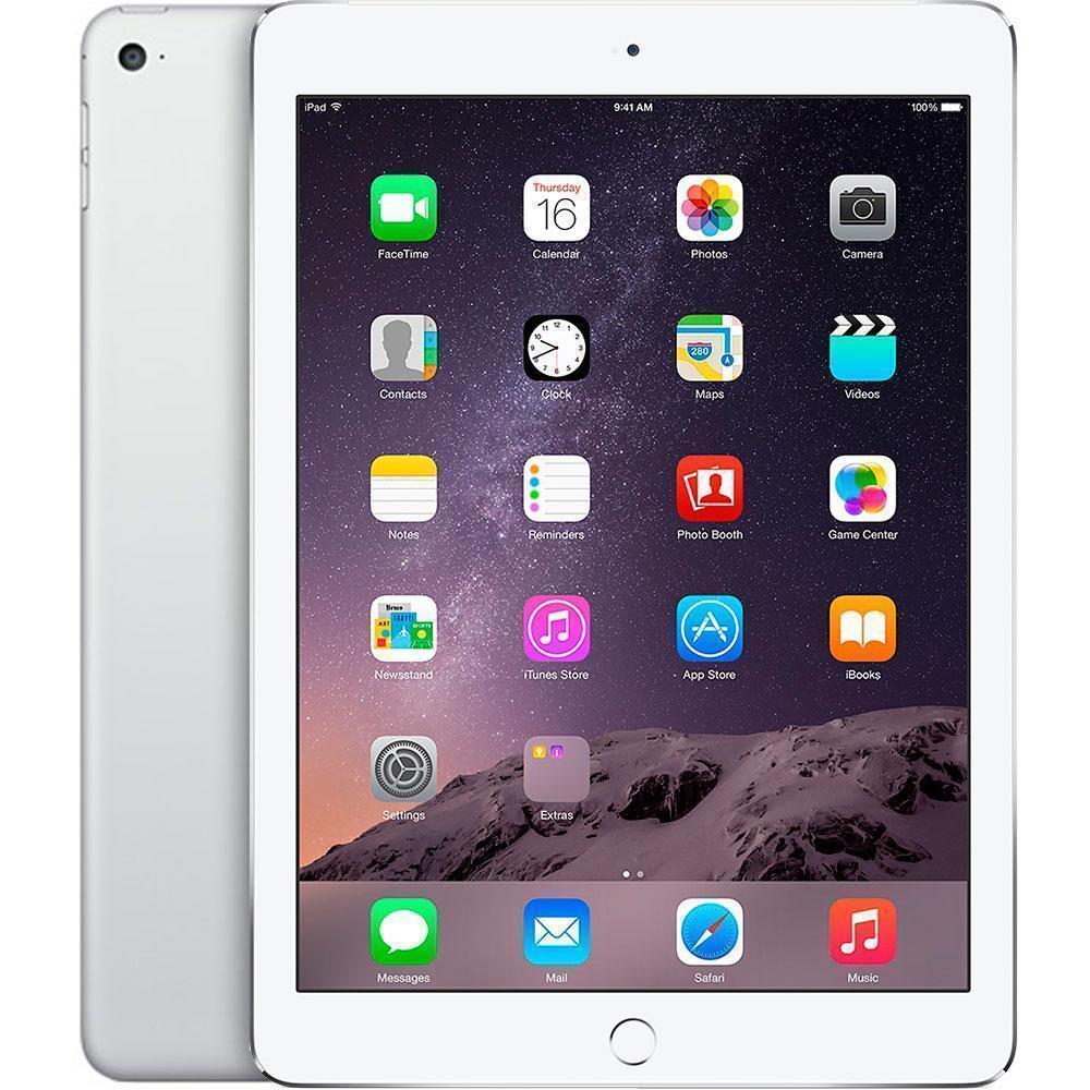 Apple iPad Air 2 128Gb Wi-Fi + Cellular Silver (MGWM2RU/A)