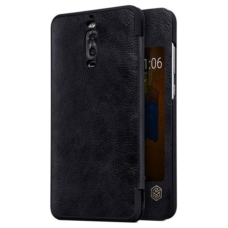 Чехол-книжка Nillkin QIN Leather Case для Huawei Mate 9 /Mate 9 Dual sim натуральная кожа чёрныйдля Huawei<br>Чехол-книжка Nillkin QIN Leather Case для Huawei Mate 9 /Mate 9 Dual sim натуральная кожа чёрный<br>