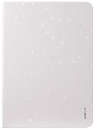 Купить со скидкой Чехол-книжка Ozaki O!coat-Slim для Apple mini 1/2/3 (искусственная кожа с подставкой) White