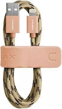 Кабель Momax Elite Link MFI (USB) на (Lightning) 100см Gold(Apple lightning) кабели, переходники, адаптеры<br>Кабель Momax Elite Link MFI (USB) на (Lightning) 100см Gold<br>